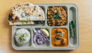 Amritsari Kulcha Chole Platter